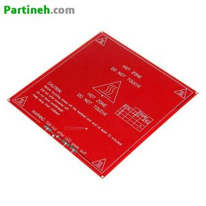 هیت بد ۲۱۴*۲۱۴ (PCB Heatbed) مدل MK2B Dual Power