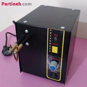 دستگاه نقطه جوش باتری برند ابزار رضا ساخت ایران ۵۰۰ آمپر اتوماتیک با سیم پیچ مسی