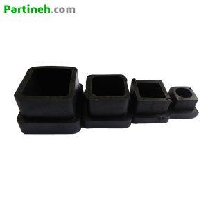 پایه درپوش پلاستیکی PVC قوطی مربعی