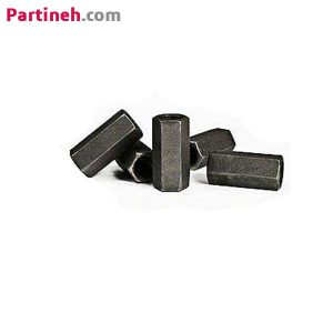 مهره دنده کبریتی قطر ۱۲mm گام ۳mm ساخت ایران