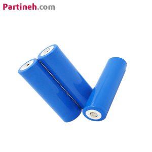 باتری لیتیوم آیون ۱۸۶۵۰ ظرفیت ۲۰۰۰mAh ولتاژ ۳٫۷