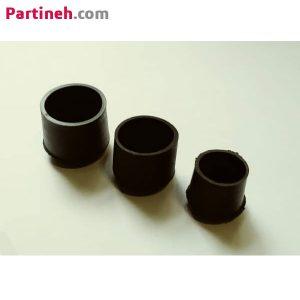 پایه درپوش پلاستیکی روی لوله (رو خور) جنس PVC (نرم)
