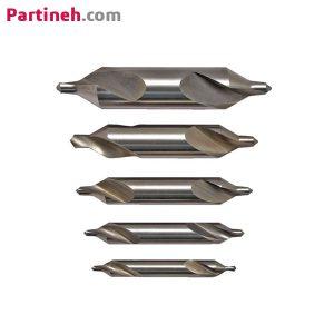 مته مرغک HSS زاویه مخروط ۶۰ درجه سایز ۲٫۵ میلیمتر