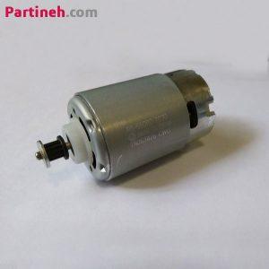 موتور DC مابوچی ۱۲ ولت کد RS-550PC-7030 دور بالا فن دار