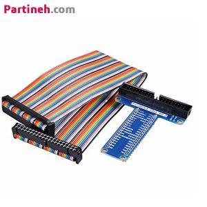 برد توسعه ۴۰ پین GPIO مخصوص رزبری پای (T-Cobbler)