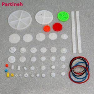 بسته ۴۳ تایی انواع چرخ دنده