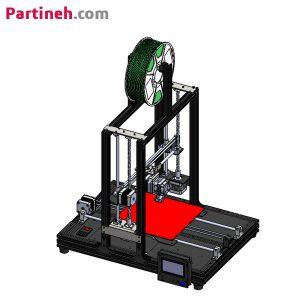 کیت پرینتر سه بعدی پروسا ابعاد ۲۰ در ۲۰ مدل P2020PAL
