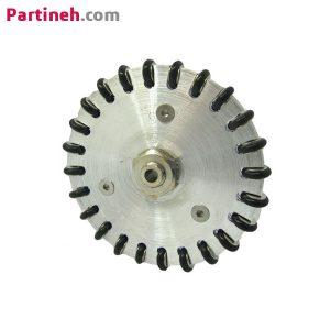 چرخ خورشیدی فولادی ۷ سانتی متر با سوراخ ۴