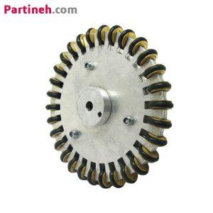 چرخ خورشیدی ۱۰سانتی متر با سوراخ ۶