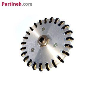 چرخ خورشیدی ۷ سانتی متر با سوراخ ۶