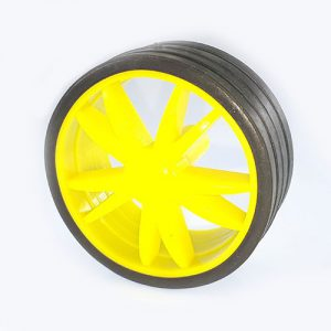 چرخ پلاستیکی ربات قطر ۵۵ میلی متر