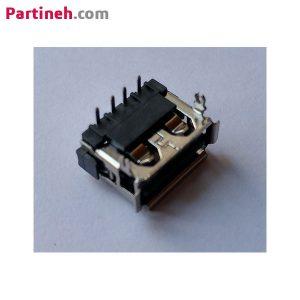 کانکتور مادگی USB رایت ۹۰ درجه