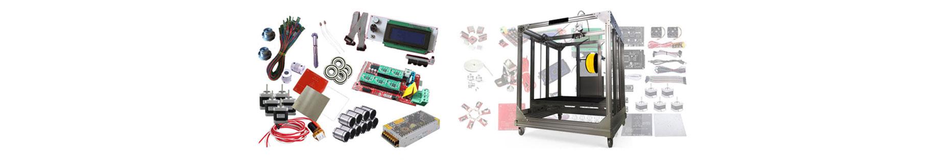 پرینتر های سه بعدی و قطعات وابسته