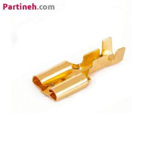 سرسیم کولری(فیشی مادگی)-ورودی سیم حداکثر ۱٫۵-عرض داخلی ورودی ۳٫۳