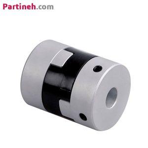 کوپلینگ صنعتی آلومینیومی مدل JH20C با قطر خارجی ۲۰ میلیمتر و قابلیت سوراخکاری تا ۸ میلیمتر برند OBC ساخت چین