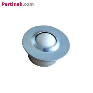 بلبرینگ چشمی مدل SP-30-POM به همراه ساچمه پلاستیکی لبه دار توکار ساخت چین
