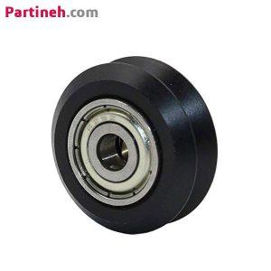 چرخ هرزگرد بلبرینگی V شکل سایز ۱۰٫۴*۲۴ قطر داخلی ۵ میلیمتر