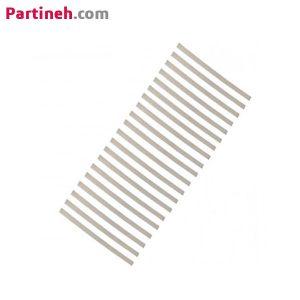 بسته ۲۰ عددی نوار نیکل جوش باتری عرض ۵ و ضخامت ۰٫۱ میلیمتر طول ۱۰ سانتیمتر