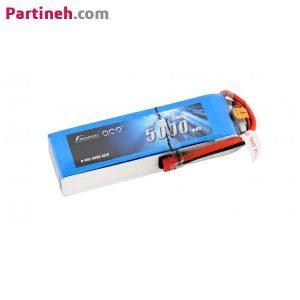 باتری لیتیوم پلیمر ۱۴٫۸ ولت ۵۰۰۰mAh 4۵C برند Gens Ace
