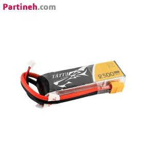 باتری لیتیوم پلیمر ۱۱٫۱ ولت ۲۳۰۰mAh 45C برند TATTU