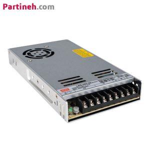 منبع تغذیه سوئیچینگ ۴۸ ولت ۷٫۳ آمپر مدل LRS-350-48 برند مینول (MEAN WELL)