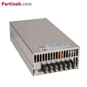 منبع تغذیه سوئیچینگ ۳۶ ولت ۱۶٫۶ آمپر مدل SE-600-36 برند مینول (MEAN WELL)