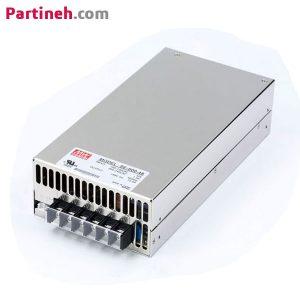 منبع تغذیه سوئیچینگ ۴۸ ولت ۱۲٫۵ آمپر مدل SE-600-48 برند مینول (MEAN WELL)