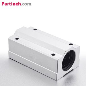 بلبرینگ خطی بلوکی مدل SC12LUU قطر ۱۲ میلیمتر برند باهر ساخت چین